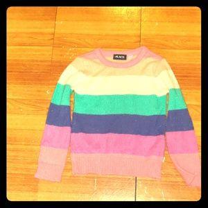 Rainbow colored sweater